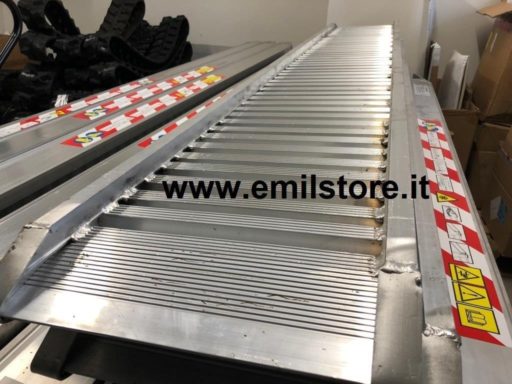 Rampe di carico in alluminio 3 metri h100 prezzo coppia for Rampe di carico in alluminio