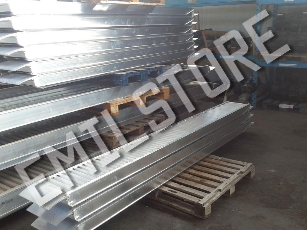Rampe di carico alluminio 4 metri h190 prezzo coppia for Rampe carico alluminio