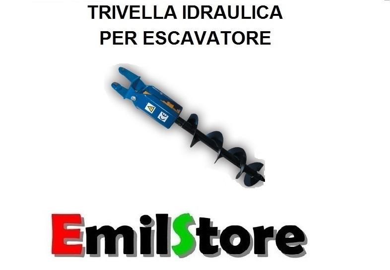 Trivella Idraulica Per Escavatori Da 8 A 25 Quintali Www Emilstore It