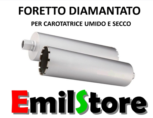 FORETTO DIAMANTATO CORONA CAROTATRICE Ø 210 mm