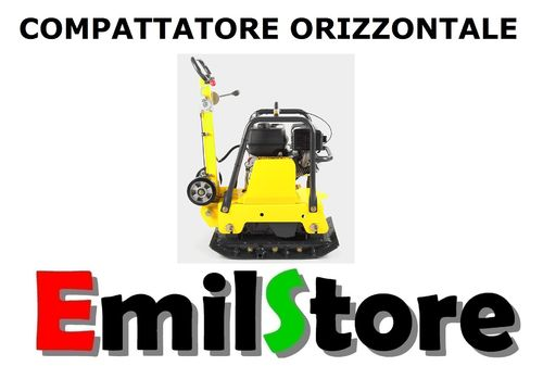 COMPATTATORE ORIZZONTALE 196 Kg PIASTRA VIBRANTE AUTOBLOCCANTI MODEL-D  (MADE IN GERMANY)