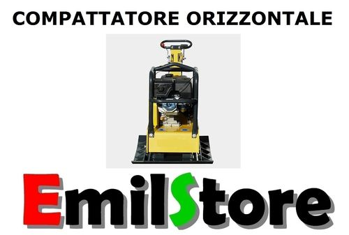 COMPATTATORE ORIZZONTALE 335 Kg PIASTRA VIBRANTE AUTOBLOCCANTI MODEL-E  (MADE IN GERMANY)