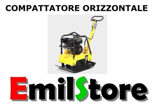 COMPATTATORE ORIZZONTALE 152 Kg PIASTRA VIBRANTE AUTOBLOCCANTI MODEL-C  (MADE IN GERMANY)